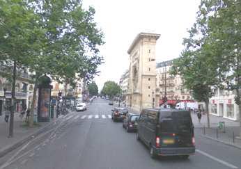 Des voies larges bd Saint-Denis