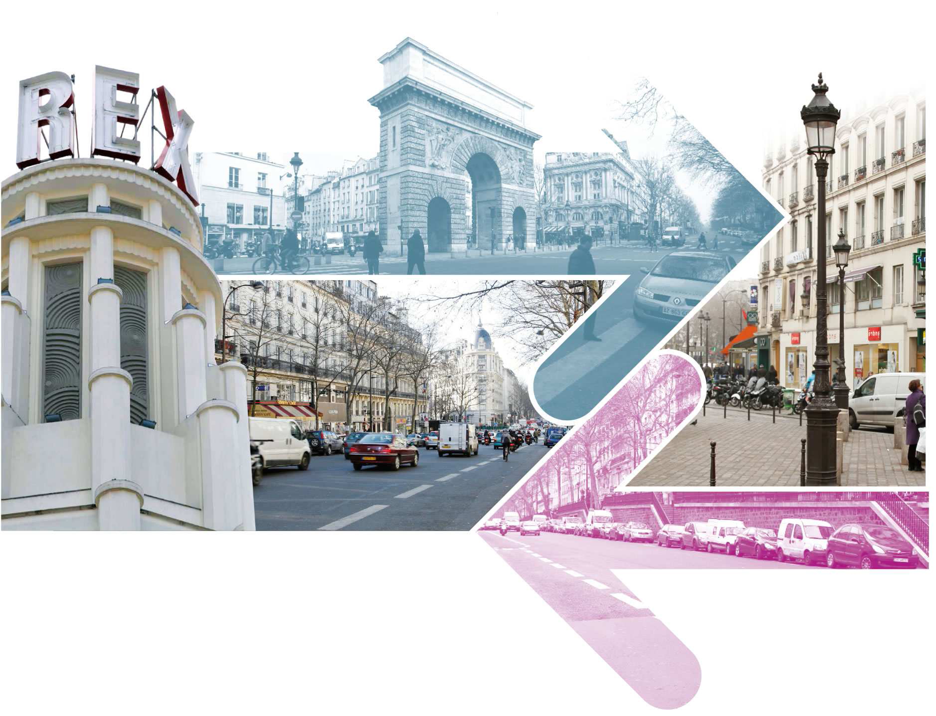 Les Grands Boulevards en double Sens _ Le Rex