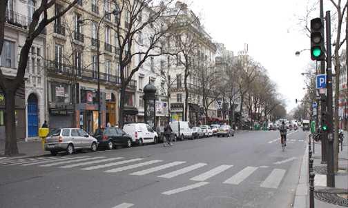 Des flux piétons importants sur les grands boulevards