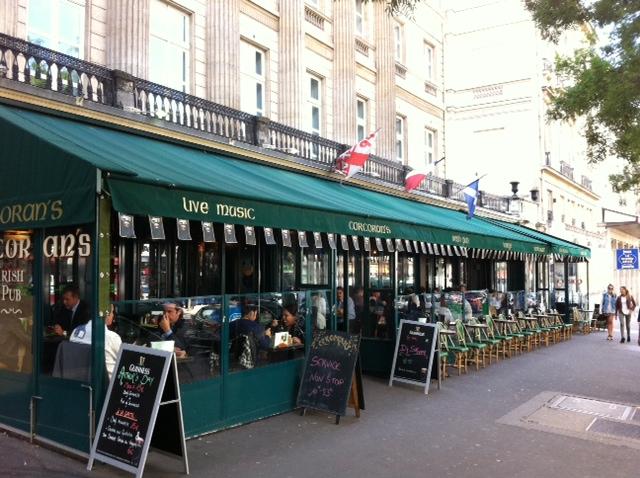 Bar, pub irlandais