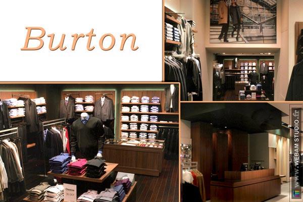 Burton of london pr t porter moyen haut de gamme hommes et femmes enseigne - Pret a porter homme haut de gamme ...