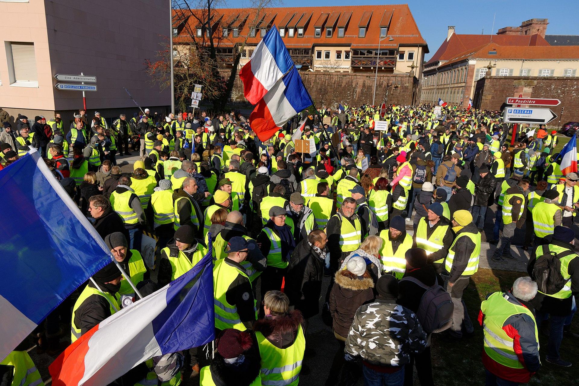 Manifestation Samedi 9 janvier 2021