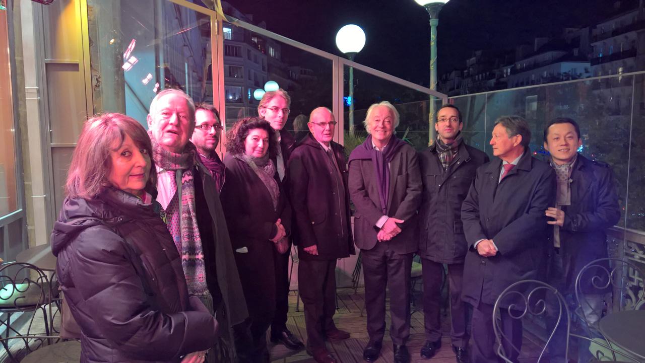 Soiree d'inauguration Noel 2015