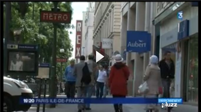 Les Grands Boulevards sur France 3 IDF