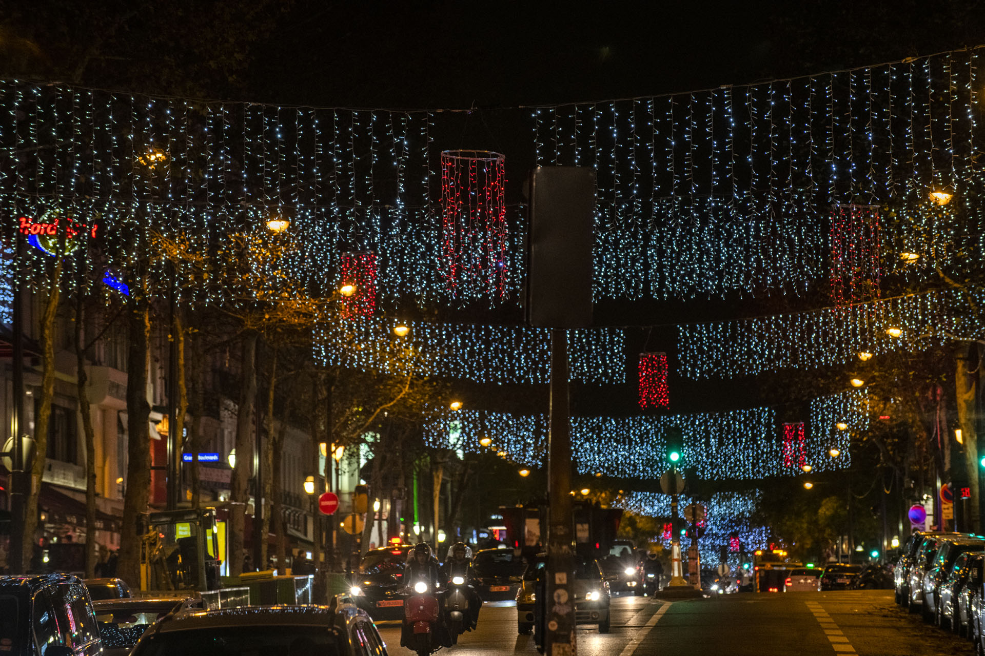 Inauguration des Illuminations de Noël des Grands Boulevards 2018 2019