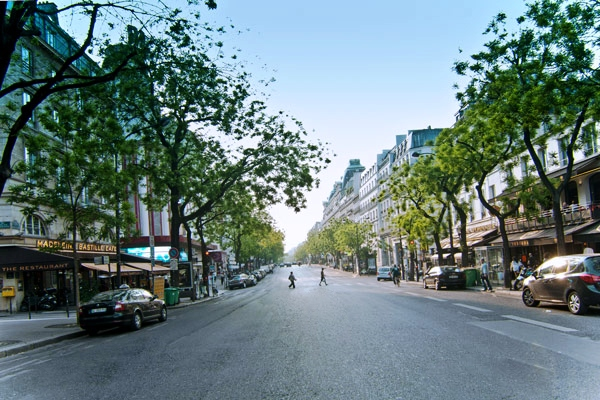 Site des grands boulevards parisiens