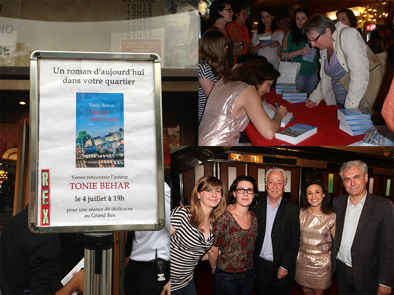 Soirée Tonie Behar au Rex